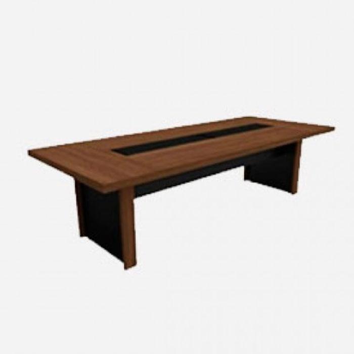 Mesa para reunião retangular