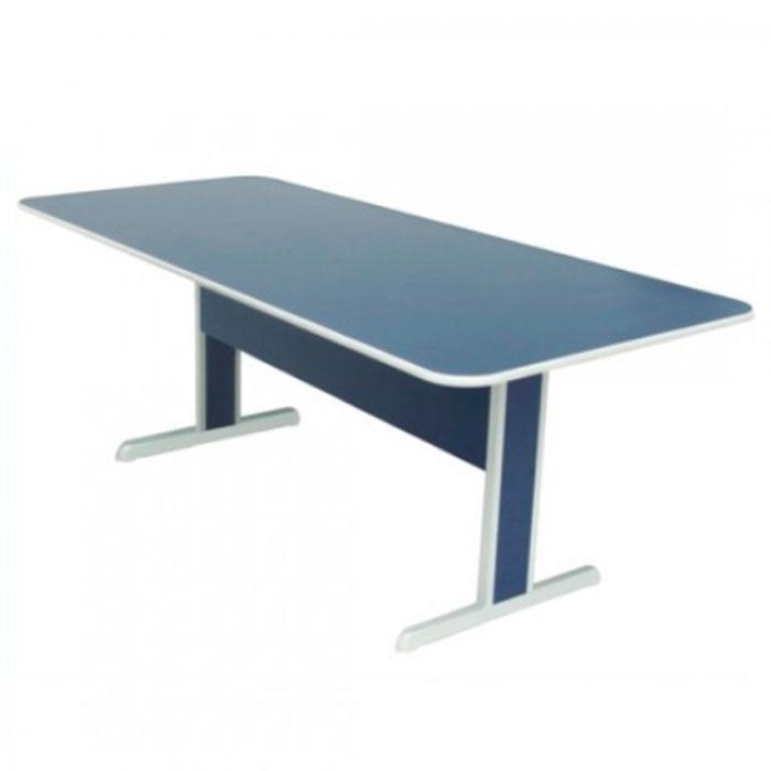 Mesa para reunião retangular linha 15mm
