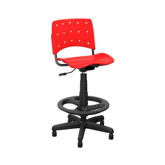 Cadeira Ergoplax + Secretária Caixa com Aro Evolution