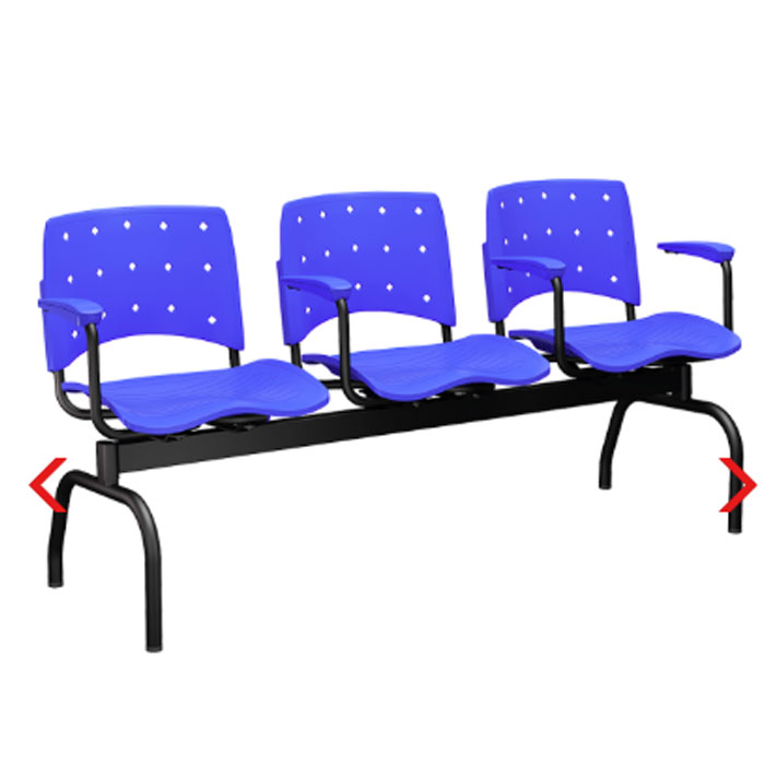 Cadeira Ergoplax + Longarinas