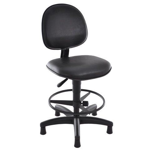 Cadeira Caixa Alta Modelo Executiva com Suporte para os Pés