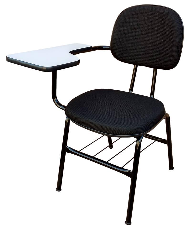 Cadeira Secretária Fixa com Prancheta